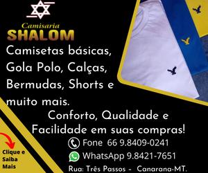 Shalom camisaria